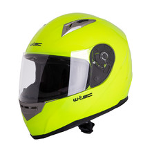 Integral Motorcycle Helmet W-TEC V158 - Fluo Yellow