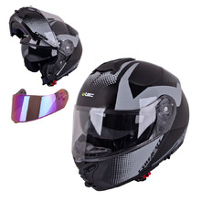 Flip-Up Motorcycle Helmet W-TEC FS-907 P/J