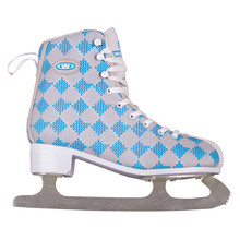 Women Ice Skates WORKER Blau