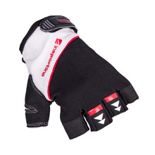Fitness Gloves inSPORTline Harjot - Black-White