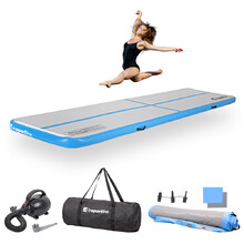 Inflatable Exercise Mat inSPORTline Airstunt 400 x 100 x 10 cm
