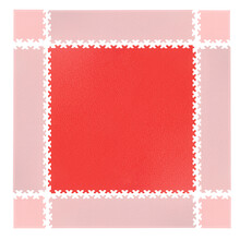 Puzzle Floor Mat inSPORTline Simple Red