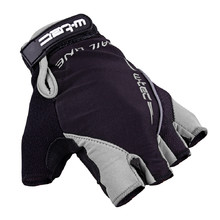 Cycling Gloves W-TEC Kauzality - Black-Grey