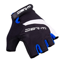 Cycling Gloves W-TEC Jaynee - Black-Blue