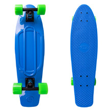 Plastic Pennyboard WORKER Blace 27ʺ - Blue