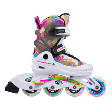 Rollerblades WORKER Picola LED – with Light-Up Wheels