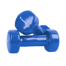 Vinyl Dumbbell Set inSPORTline Smoothbell 2 x 2 kg