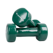 Vinyl Dumbbell Set inSPORTline Smoothbell 2 x 3 kg