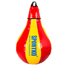 Punching Bag SportKO GP1 - Red-Yellow