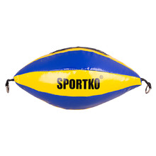 Punching Bag SportKO GP2 - Yellow-Blue