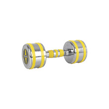 Chrome Dumbbell inSPORTline Yellsteel 7 kg