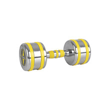 Chrome Dumbbell inSPORTline Yellsteel 9 kg