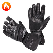 Heated Moto and Ski Gloves inSPORTline HEATston - Grey