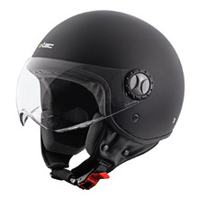 Scooter Helmet W-TEC FS-701MB Matt Black - Black