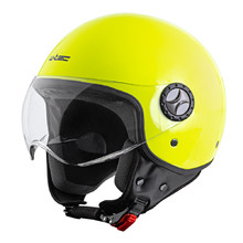 Scooter Helmet W-TEC FS-701FY Fluo Yellow