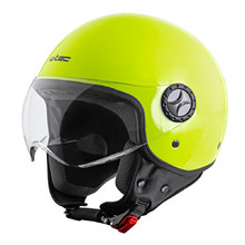 Scooter Helmet W-TEC FS-701FY Fluo Yellow - Fluo Green