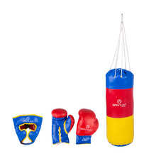 1 kg Punching Bag Spartan + Head Guard + Gloves