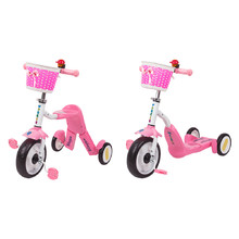 Tri-Scooter 2-in-1 WORKER Blagrie - Pink
