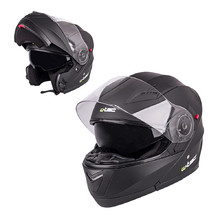 Motorcycle Helmet W-TEC YM-925 - Pure Matt Black