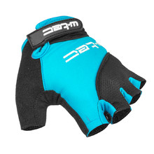 Cycling Gloves W-TEC Sanmala AMC-1023-22 - Blue-Black