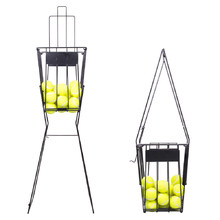 Wire basket for tennis balls inSPORTline TB8203