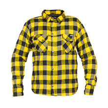 Motorcycle Shirt W-TEC Terchis - Yellow