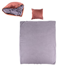 Massage Pillow & Blanket inSPORTline Trawel - Dark Brown