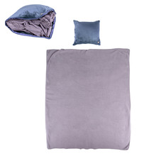 Massage Pillow & Blanket inSPORTline Trawel - Dark Blue