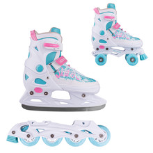 3-in-1 Adjustable Skates/Rollerblades/Roller Skates WORKER Juando