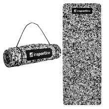Exercise Mat inSPORTline Camu 173x61x0.8cm - Grey Camouflage
