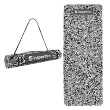 Exercise Mat inSPORTline Camu 173x61x0.4cm - Grey Camouflage