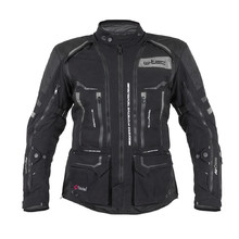 Motorcycle Jacket W-TEC Aircross - Black-Grey