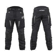 Motorcycle Pants W-TEC Aircross - Black-Grey