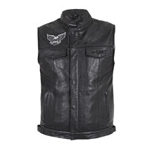 Men's Motorcycle Vest W-TEC Midvora - Black