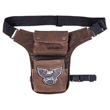 Motorcycle Thigh Bag W-TEC Antique Cracker