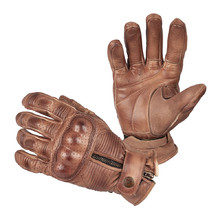 Motorcycle Gloves B-STAR Garibal - Brown
