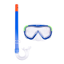 Diving Set Escubia Turtle Kid - Blue