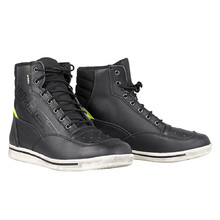 Motorcycle Shoes W-TEC Culabus - Black-Fluo