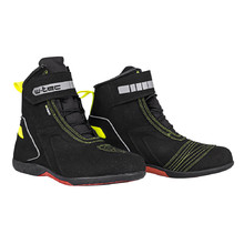 Motorcycle Boots W-TEC Sixtreet - Black-Green