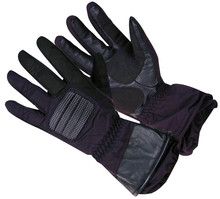Motorcycle Gloves WORKER MT652 - Black