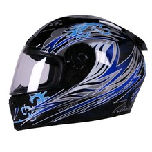 V192 Motorcycle Helmet - Blue