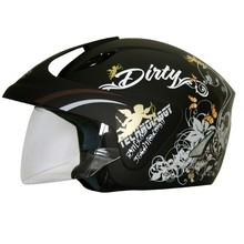 WORKER V520 Motorcycle Helmet - Sale - Black-Yellow