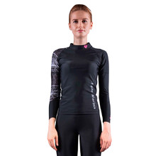Women's Rashguard Aqua Marina Illusion - Black
