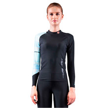 Women's Rashguard Aqua Marina Illusion - Blue