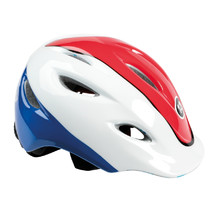 Cycling Helmet Kross Infano - Red-White-Blue