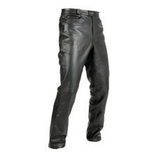 Leather Motorcycle Trousers Spark Jeans - Black