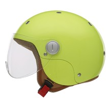 Motorcycle Helmet NOX N217K with 3 Different Inner Liner Sizes - Fluo Yellow