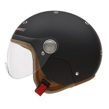 Motorcycle Helmet NOX N217K with 3 Different Inner Liner Sizes - Matte Black