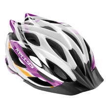 Bicycle Helmet KELLYS DYNAMIC - Violet-White