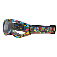 Kids motorcycles glasses W-TEC Spooner with graphics - Coloured Graphic